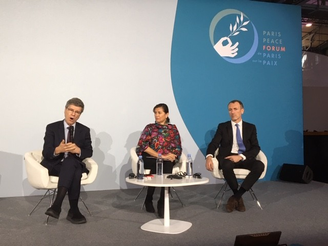 In response to growing inequalities: official launch of Business for #InclusiveGrowth Platform at Paris Peace Forum